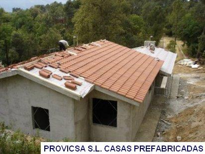Casas prefabricadas provicsa construcci n for Variedad de techos para casas